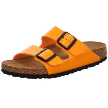Birkenstock Klassische Pantolette orange