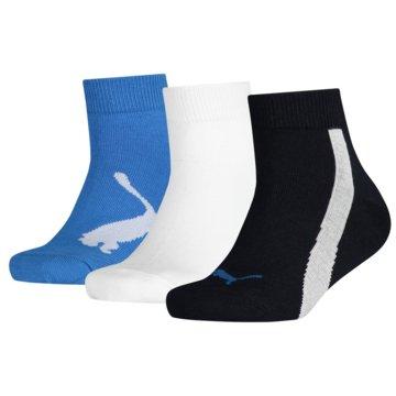 Puma Hohe SockenKIDS BWT QUARTER 3P - 100000970 blau