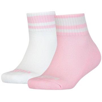 Puma Hohe SockenCLYDE JUNIOR QUARTER 2P - 100000983 pink