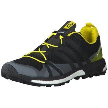 adidas TrekkingschuheTerrex Agravic Herren Trail- Runningschuhe schwarz gelb schwarz