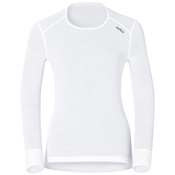 ODLO Shirts & TopsBL TOP CREW NECK L/S ACTIVE WA - 152021 10000 weiß