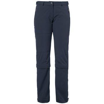 VAUDE OutdoorhosenWomen's Farley Stretch Capri T-Zip II blau