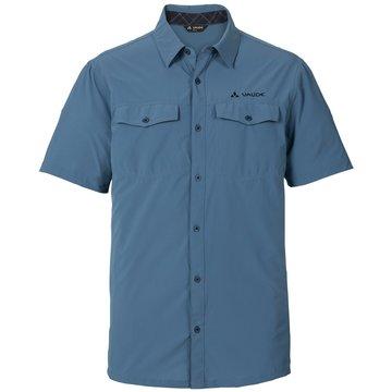 VAUDE HemdenSkomer Shirt II Herren Outdoorhemd kurzarm blau blau