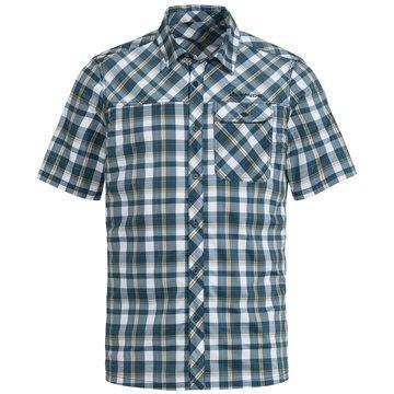 VAUDE KurzarmhemdenMen's Bessat Shirt II blau