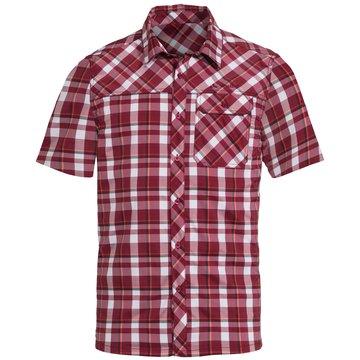 VAUDE KurzarmhemdenMen's Bessat Shirt II rot