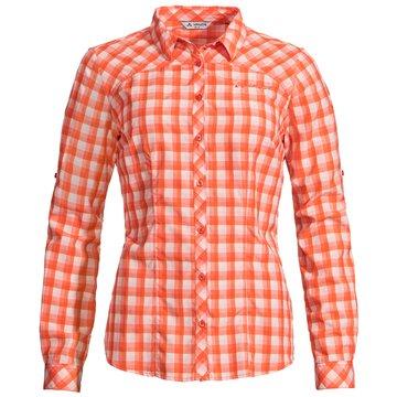 VAUDE LangarmblusenWomen's Tacun LS Shirt orange