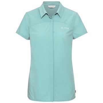 VAUDE KurzarmblusenWomen's Skomer Shirt II blau