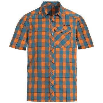 VAUDE KurzarmhemdenMen's Prags Shirt II orange