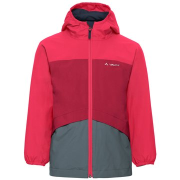 VAUDE RegenkombinationenKIDS ESCAPE 3IN1 JACKET - 41099 rot