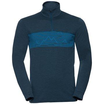 VAUDE Shirts & TopsME BASE HALFZIP - 41223 blau