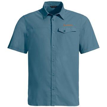 VAUDE KurzarmhemdenMen's Rosemoor Shirt blau