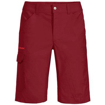 VAUDE kurze SporthosenMen's Skarvan Bermuda II rot