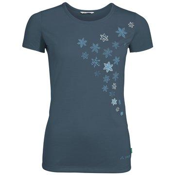 VAUDE T-ShirtsWomen's Skomer Print T-Shirt blau
