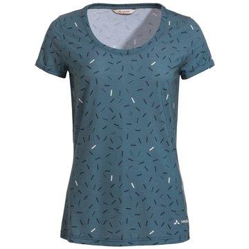 VAUDE T-ShirtsWomen's Skomer AOP T-Shirt grau