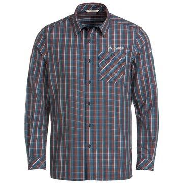 VAUDE LangarmhemdenMen's Albsteig LS Shirt II blau