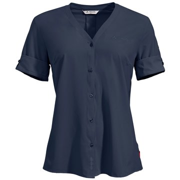 VAUDE KurzarmblusenWomen's Skomer Shirt III blau