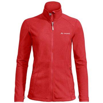 VAUDE SweatjackenWomen's Rosemoor Fleece Jacket rot