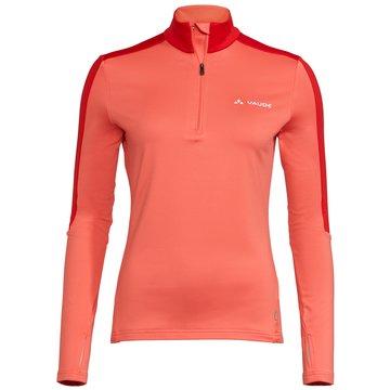 VAUDE PulloverWomen's Livigno Halfzip II orange
