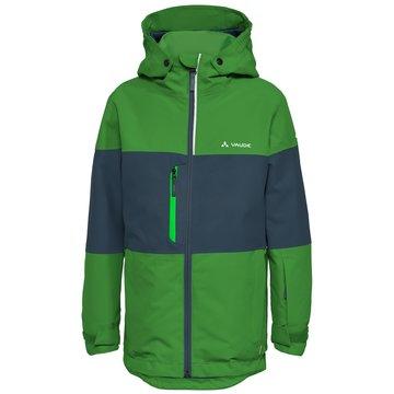 VAUDE FunktionsjackenKids Snow Cup Jacket grün