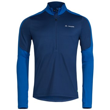 VAUDE PulloverMen's Livigno Halfzip II blau
