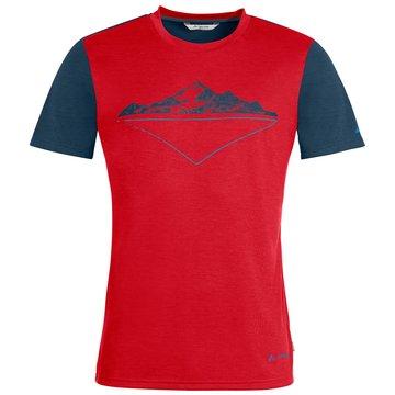 VAUDE T-ShirtsMen's Tekoa Shirt II rot