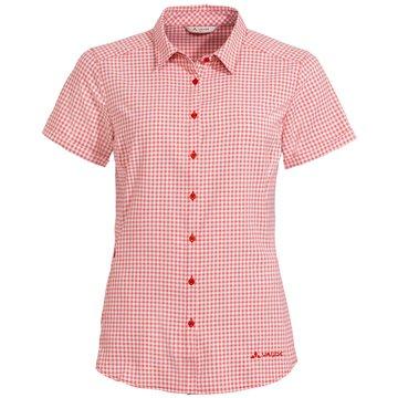 VAUDE KurzarmblusenWomen's Seiland Shirt III rot