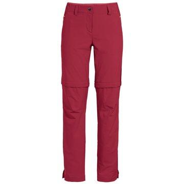VAUDE OutdoorhosenWomen's Skomer ZO Pants II rot