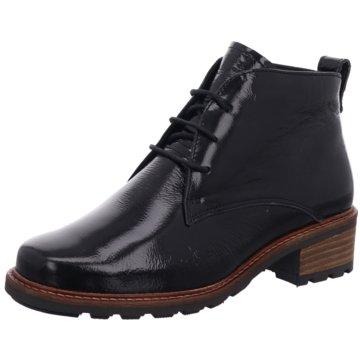 Solidus Komfort Stiefelette schwarz