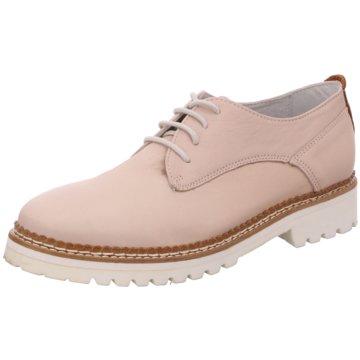 SPM Shoes & Boots Klassischer Schnürschuh rosa