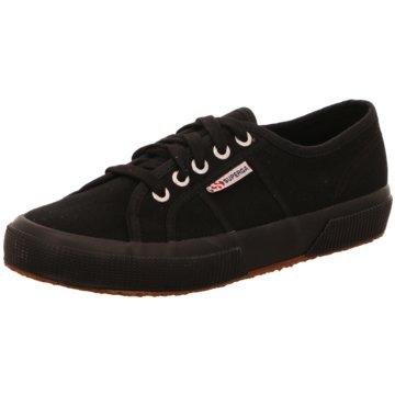 Superga Sneaker schwarz