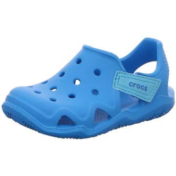 CROCS ClogSwftwtrWaveShK blau