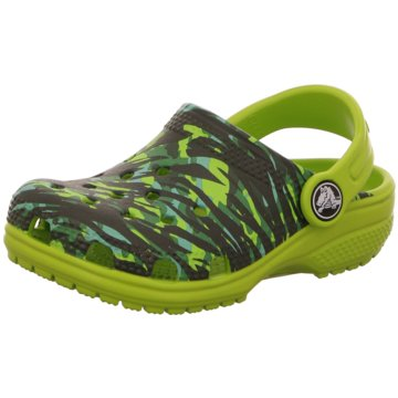 CROCS ClogClassic Graphic Kids grün