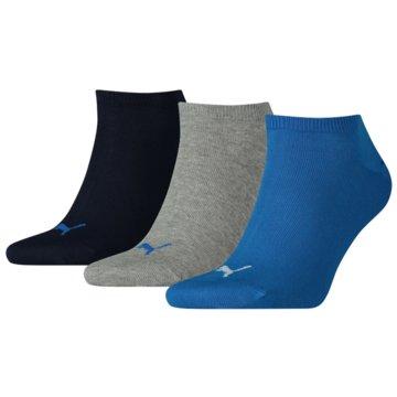 Puma DamenmodeUNISEX SNEAKER PLAIN 3P - 261080001 blau