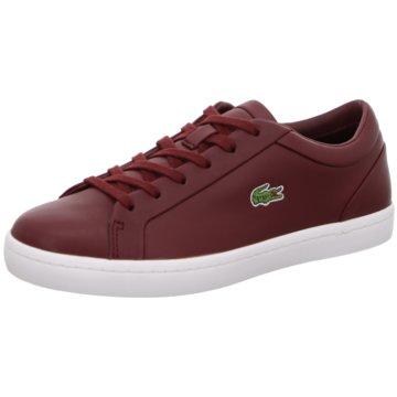 Lacoste Sneaker Low rot