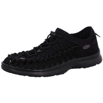 Keen Komfort Schuh schwarz