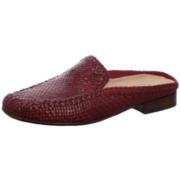 Sioux Komfort Pantolette rot
