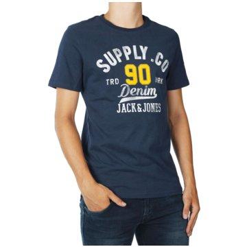 Jack & Jones T-Shirts print blau
