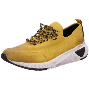 Diesel Sneaker Low gelb