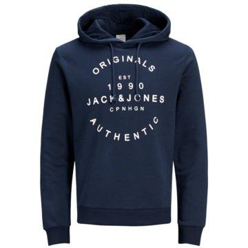 Jack & Jones Hoodies blau