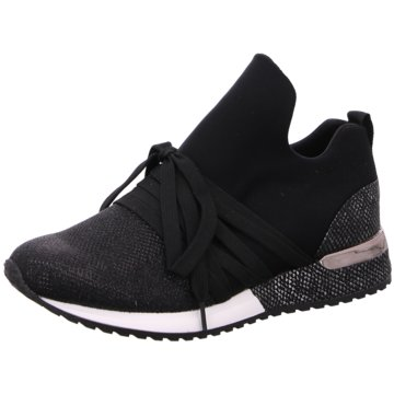 La Strada Sneaker LowSneaker with laces schwarz