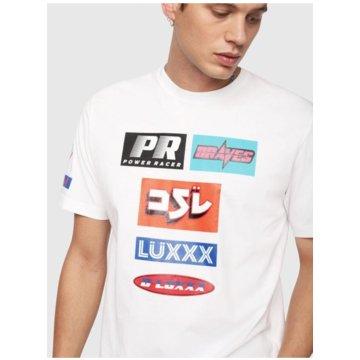 Diesel T-Shirts print weiß
