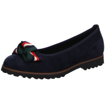 Gabor Top Trends Ballerinas blau