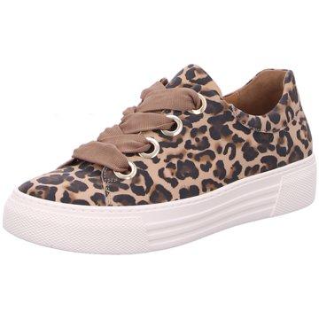 Gabor comfort Plateau Sneaker animal