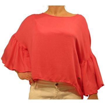 Please Langarmshirt pink