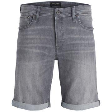 Jack & Jones Jeans Shorts grau