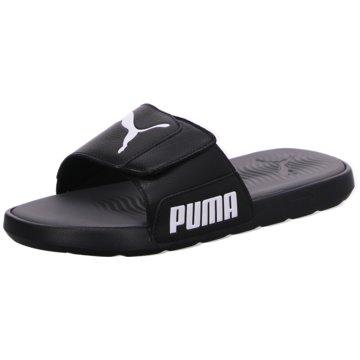 Puma Badelatsche schwarz