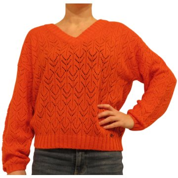 Blend shoes Strickpullover rot