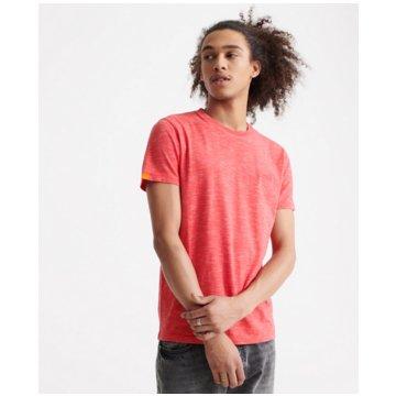 Superdry T-Shirts basic pink