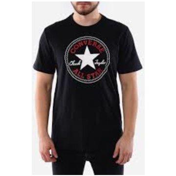 Converse T-Shirts basic schwarz