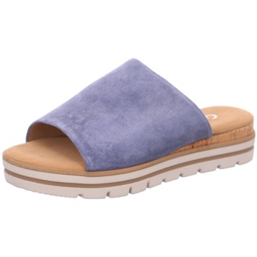 Gabor comfort Klassische PantolettePantolette blau